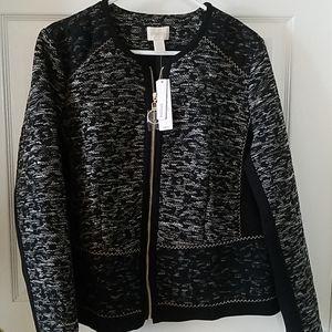 Stylish black jacket by Chico's NWT